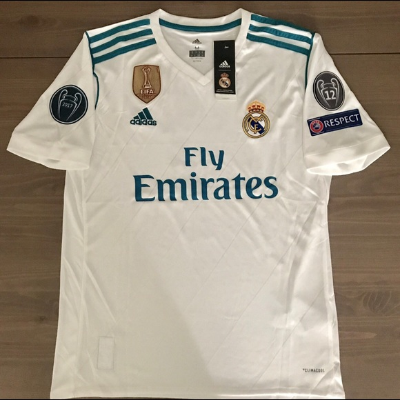 sneakers for cheap 9d677 2416a Real Madrid Ronaldo #7 jersey Soccer Adidas men NWT
